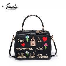 <b>AMELIE GALANTI Women's Bag</b> Flap Lovely fashion Embroidery ...