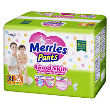 <b>Трусики</b>-<b>подгузники для детей</b> Merries <b>XL</b>, 26шт | Магнит Косметик