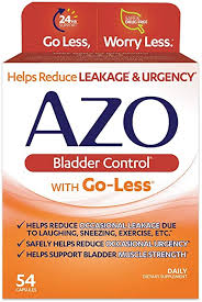 AZO Bladder Control with Go-Less Daily Supplement ... - Amazon.com