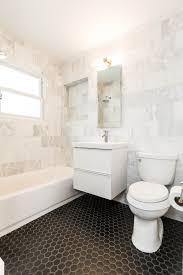 bathroom wall hexagon white hexagonal tile