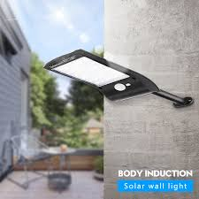 Solar Motion Sensor Light Outdoor 36 LED Super Bright Lamp ...