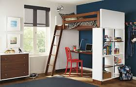 view in gallery loft bed with desk underneath bunk bed office