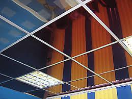 Кассетные потолки с открытой подвесной системой