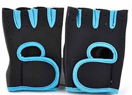 Mobidezire <b>Cycling Gloves</b> For -XXL Size Black Blue <b>1 pair</b> Cycling ...