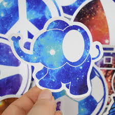 Hot sale <b>50 Pcs Galaxy Stickers for</b> Laptop Motorcycle Car Styling ...