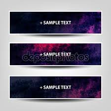 set of horizontal banner background designs or holiday ad collection of three colorful bright header and banner designs for holiday ad or web campaign or announcement creative design illustration in ly