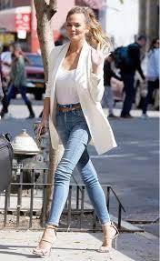 Resultado de imagen de looks con blazer blanca