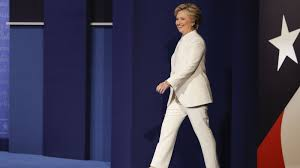 hillary clinton s pantsuits for the presidential debates have been hillary clinton s pantsuits for the presidential debates have been red white and blue quartz