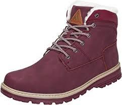 Red - Trekking & Hiking Boots / Trekking & Hiking ... - Amazon.co.uk