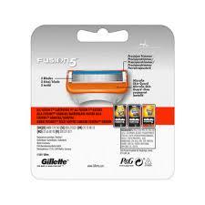 <b>Кассеты</b> для станка <b>Gillette Fusion</b> сменные 4шт - купить в ...