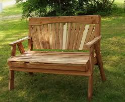 cedar garden bench plans cedar bench plans
