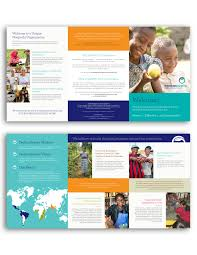 modern education brochure the perfect template for creating an a nonprofit brochure design faircom new york faircomny com