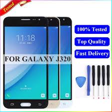 <b>J320f lcd For Samsung</b> Galaxy J3 2016 Display J320M J320H ...