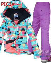 <b>HOT</b> Gsou snow <b>NEW</b> Girls Women's ski snowboard <b>snow jacket</b> ...