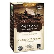 Numi® <b>Chocolate Puerh Organic Tea</b>, 16/Box at Staples