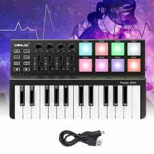 <b>High Quality Worlde Panda</b> Mini 25 Key USB Keyboard and Drum ...