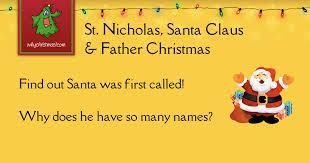 St. Nicholas, <b>Santa Claus</b> and Father <b>Christmas</b> - <b>Christmas</b> ...