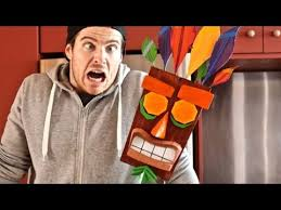 1:1 Scale <b>Aku Aku Mask</b> from Crash Bandicoot- Cosplay Chris ...