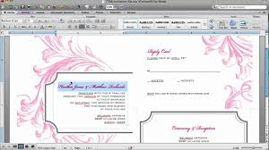 how to make a wedding invitation card on microsoft word 2010 how to customize an invitation template in microsoft word you