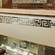 Modern <b>Geometric</b> Plastic 3D Mirror Wall <b>Sticker</b> for Living Room