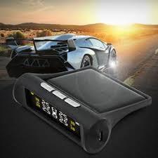 Wireless Solar TPMS LCD Car Tire Pressure Monitor System ... - Vova