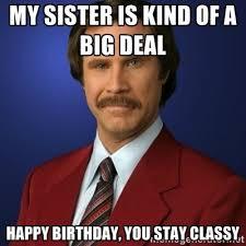 Happy Birthday Meme Sister - happy birthday meme sister in law ... via Relatably.com