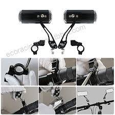 <b>1 Pair</b> Adjustable <b>Bicycle</b> Mobility Scooter MTB <b>Bike</b> Handlebar Rear ...