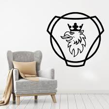 Scania LOGO HGV LKW Room Decoration Livingroom bedroom ...