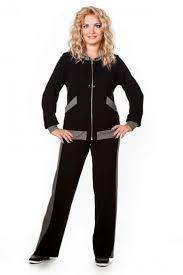 <b>Спортивный костюм Аврора</b> (черный) фирмы Лавира купить по ...