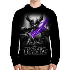 """Толстовка с полной запечаткой """"<b>League of Legends</b>. Кассадин ..."""