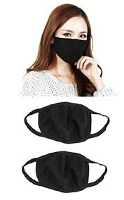 Outofbox Anti-Pollution Dust <b>Cotton</b> Unisex <b>Mouth</b> Mask(Set Of 2 ...