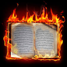 Bildresultat för Americans In Wyoming Burn the Qu'ran