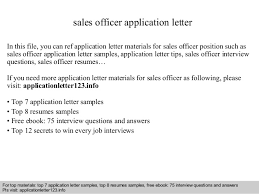 s officer application letter