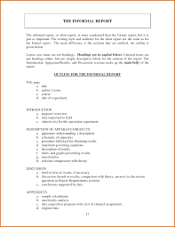 informal business report examples   Lease Template