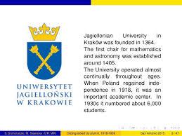 「1364 Uniwersytet Jagielloński established map」の画像検索結果