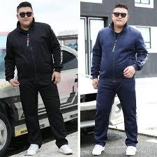 Thick Men Tracksuit <b>Set Winter</b> Casual Mens Sportswear <b>Sets Two</b> ...