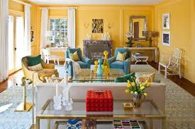 bright blue and yellow living room blue yellow living room