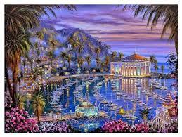 """Paintboy <b>Картина по номерам</b> """"<b>Остров</b> Каталина"""" 40х50 см ..."""