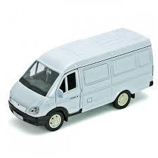 Купить модель <b>машины Welly модель</b> машины ГАЗель Фургон в ...