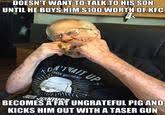 Angry Grandpa | Know Your Meme via Relatably.com