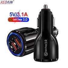 XEDAIN <b>18W 3.1A Car Charger</b> Quick Charge 3.0 Universal Dual ...