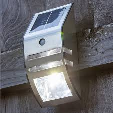 Babz PIR Motion Sensor Wireless Solar <b>Outdoor LED</b> Light Lamp for ...