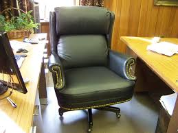 custom made custom built leather desk chair for an execitive office custommade custom office