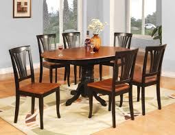 chunky dining table and chairs  dining room pretty details about  pc oval dinette kitchen dining room table amp  chairs
