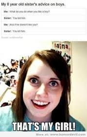 Overly Attached Girlfriend! on Pinterest | Girlfriend Meme, Bad ... via Relatably.com