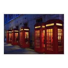 "Холст 60x90 ""<b>London</b> Phone Booth"" #528354 от Leichenwagen ..."