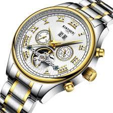 <b>kinyued</b> jyd-j011 rome <b>automatic mechanical men</b> wrist <b>watch</b> at ...
