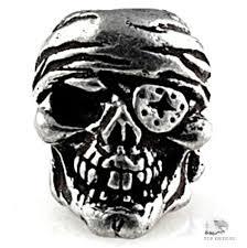 <b>Бусина</b> череп на <b>темляк</b> One Eyed Jack Skull Bead США купить в ...