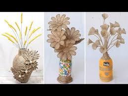 <b>6</b> Beautiful flower vase <b>decoration</b> ideas with jute rope | <b>Home Decor</b> ...