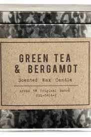<b>Ароматическая свеча</b> - Серебристый/<b>Green</b> Tea-Bergamot ...